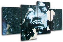 Graffiti Decay Hendrix Blue Urban - 13-0005(00B)-MP04-LO